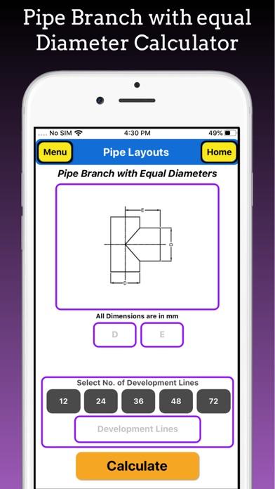 Branch Pipe Layouts Pro screenshot 4