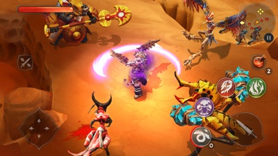 Screenshot from Dungeon Hunter 5