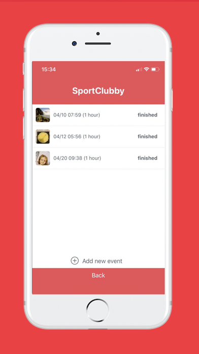 Screenshot for SportClubby Live in United States App Store