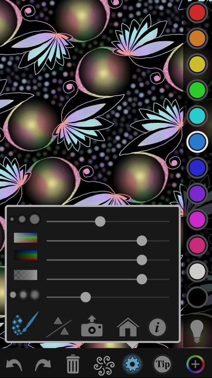 iOrnament: draw mandala & art screenshot-0