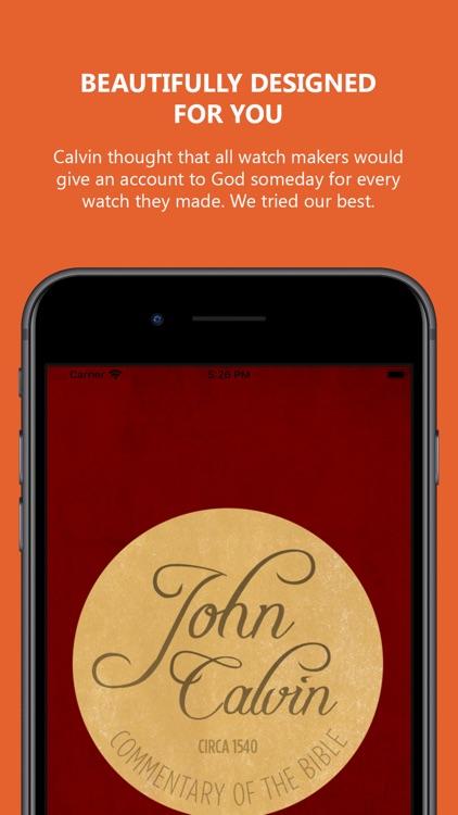John Calvin Commentary 2.0 screenshot-3