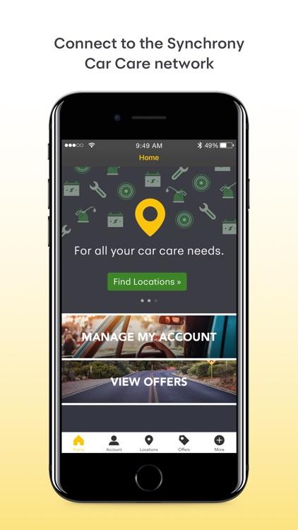 Synchrony Car Care screenshot-3