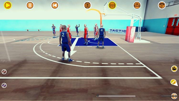 Basketball 3D playbook screenshot-6