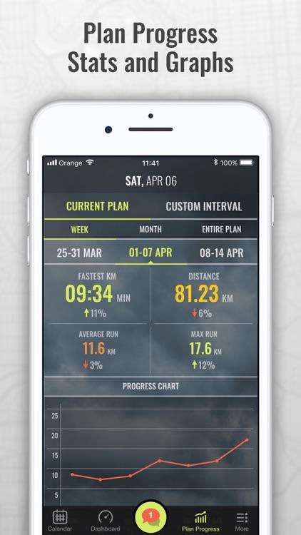 Marathon Trainer & Run Tracker screenshot-4