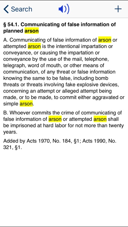 LA Criminal Code 2020