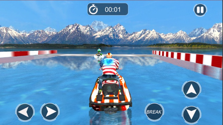 Extreme JetSki Water Racing screenshot-4