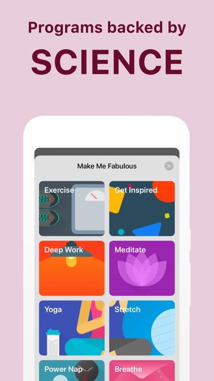 Fabulous - Daily Motivation screenshot-4