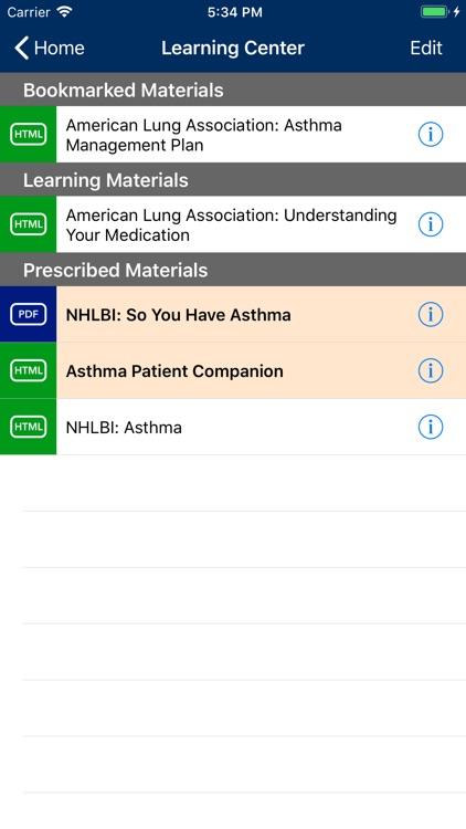 Asthma Manager screenshot-5