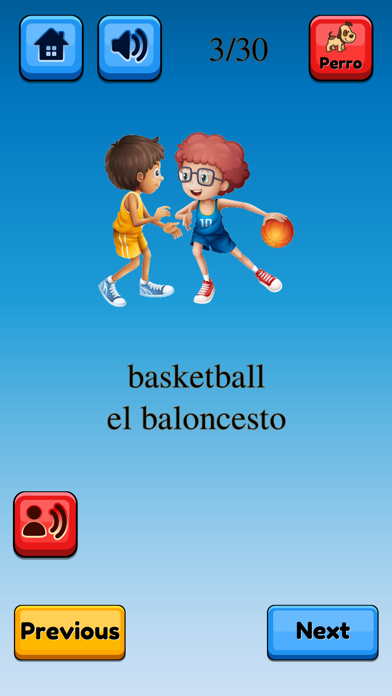 Fun Spanish Flashcards Pro screenshot #3