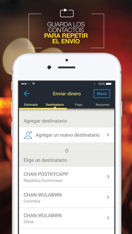 Western Union ES Envía Dinero screenshot-4