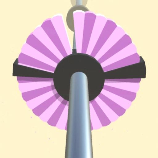 round spin hit