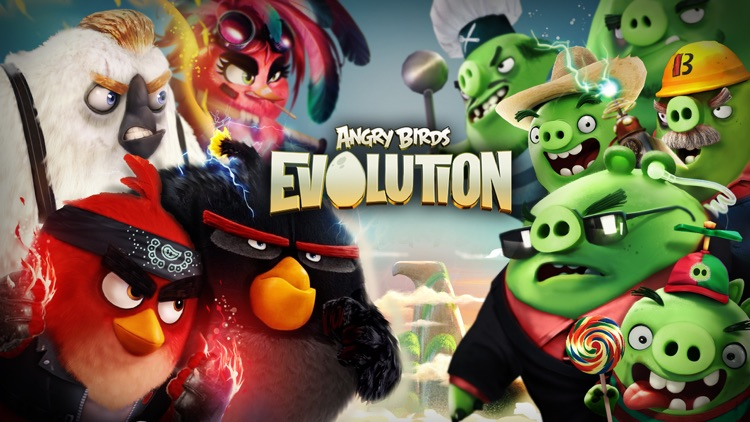 Angry Birds Evolution screenshot-0