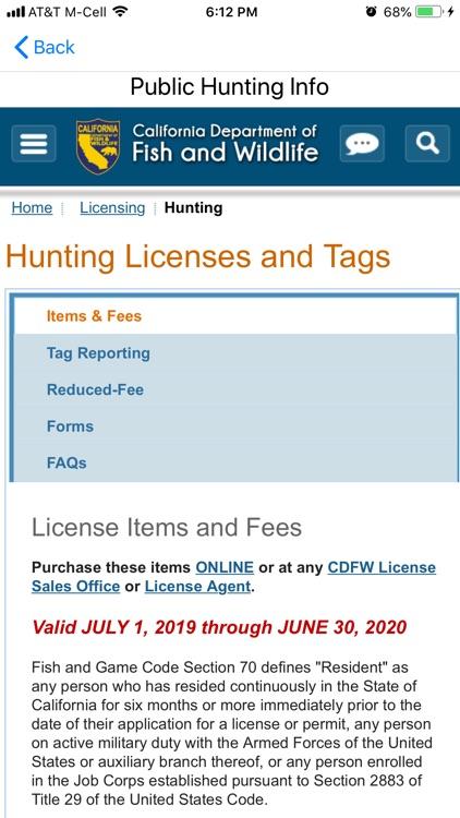 Public Hunting California screenshot-6