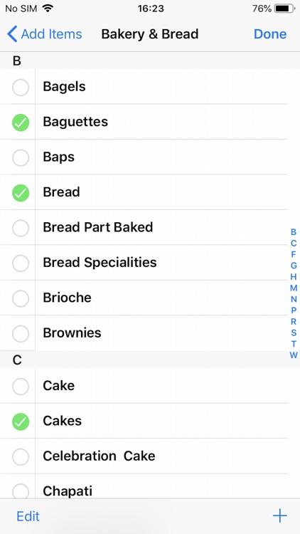 Grocery & Shopping List screenshot-3