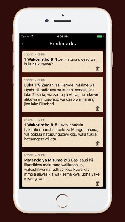 Biblia Takatifu Ya Kiswahili By Dzianis Kaniushyk