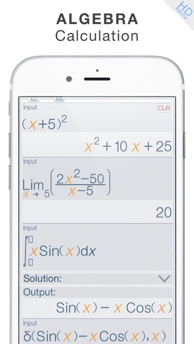 Screenshot for Calculator ∞ in Qatar App Store