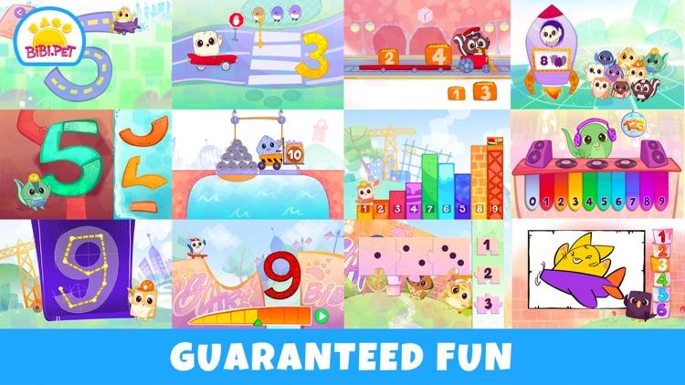 Bibi Numbers 123 - Kids Games screenshot-5