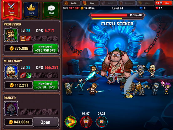 Lords Royale: RPG Clicker screenshot 11