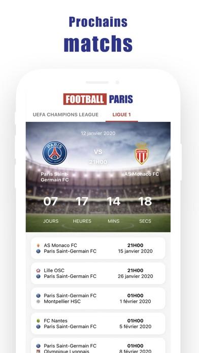 Football Parisلقطة شاشة2
