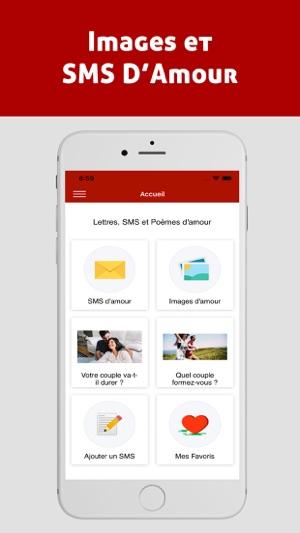Images Et Sms Damour En App Store