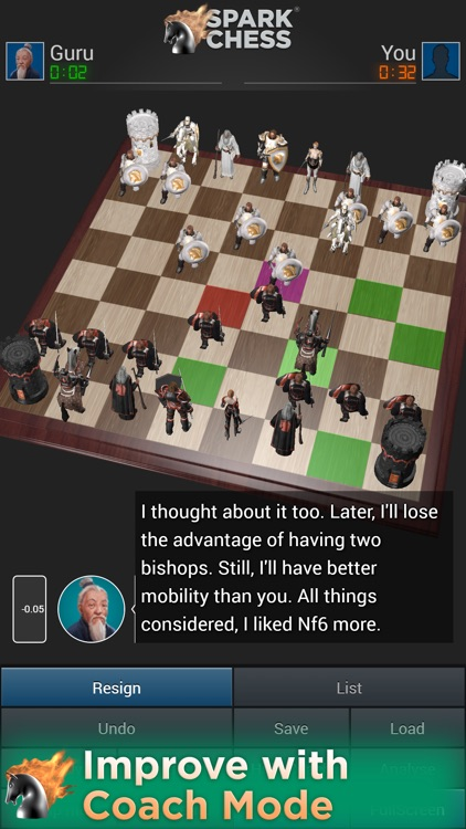 SparkChess Lite screenshot-4