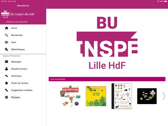 BU INSPÉ Lille HdF screenshot 8