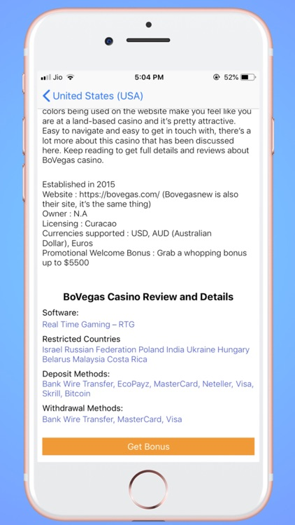 OCPedia: Online Casino Finder