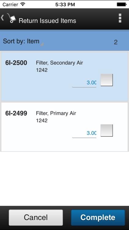 IBM Maximo Issues and Returns screenshot-4