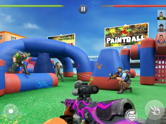 Paintball Shooting Games 3D screenshot 6