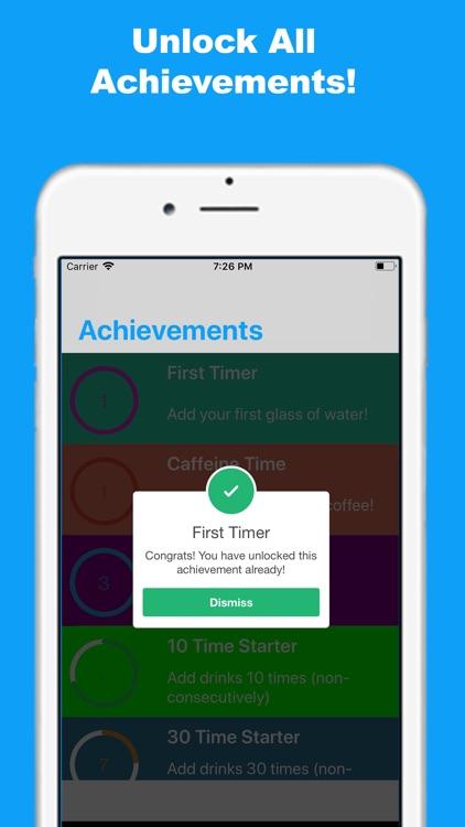 Water Tracker and Reminder! screenshot-7