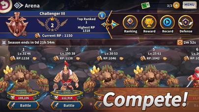 WITH HEROES - IDLE RPG screenshot 3