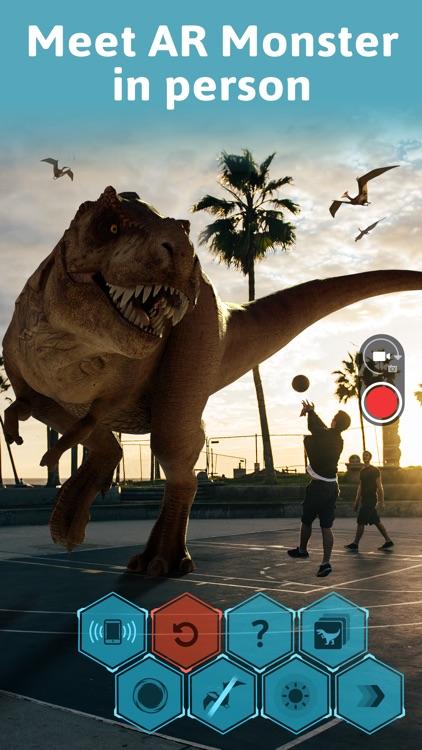 Monster Park - AR Dino World screenshot-0
