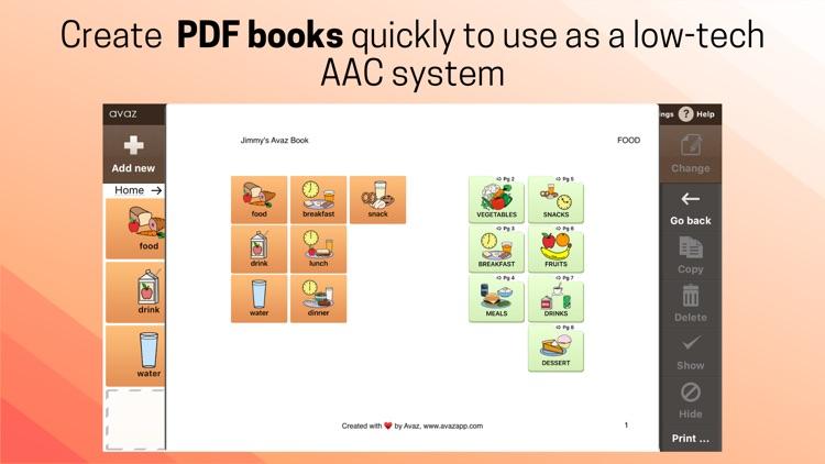 Avaz AAC screenshot-5