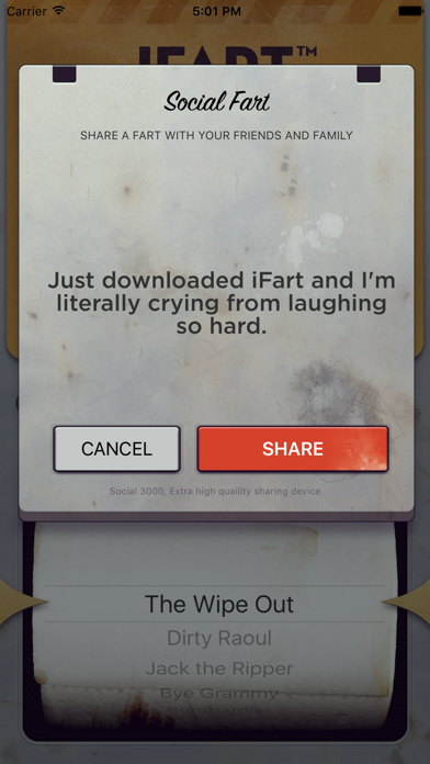 iFart - Fart Sounds App Screenshots