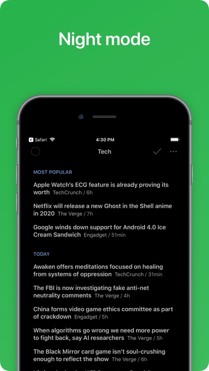 Feedly - Smart News Reader screenshot-5