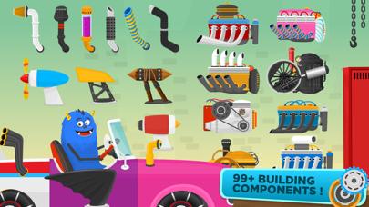 Racing Car Game for children screenshot four