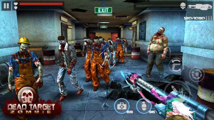 DEAD TARGET - Zombie Shooting screenshot-7