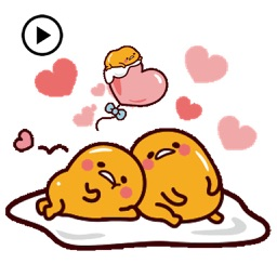 Animated Gudetama Egg Sticker