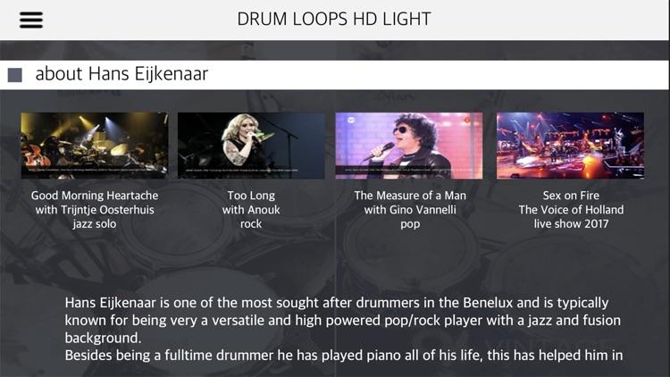 Drum Loops HD Light screenshot-9