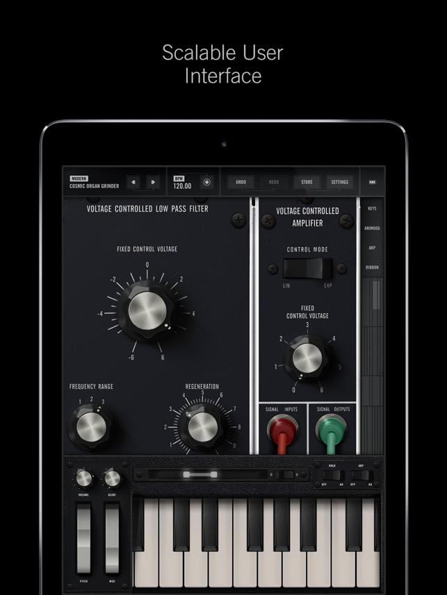 Model 15 Modular Synthesizer Screenshot