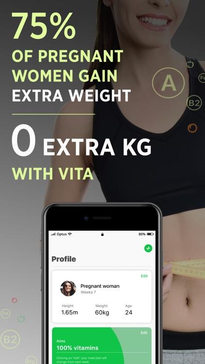 VITA: Pregnancy diet plan screenshot-3