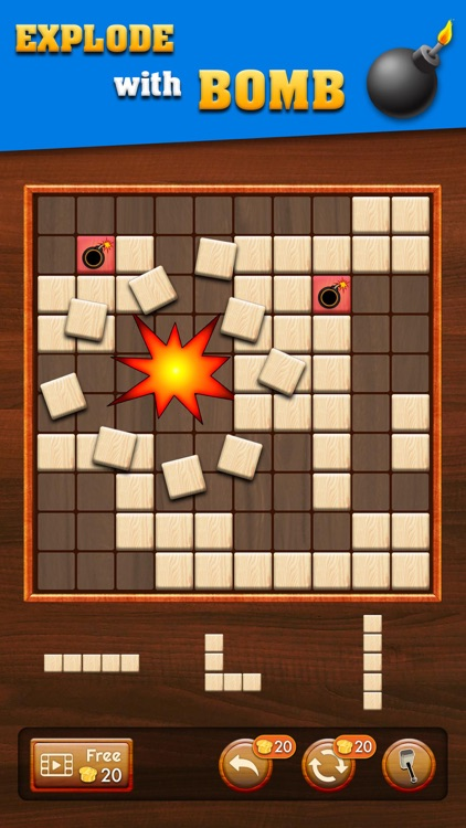 Woody Extreme Block Puzzle screenshot-4