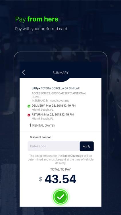 uPPyx: Rent a Car On Demand screenshot-3