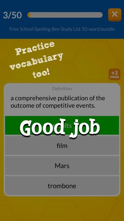 Word Club Spelling+Vocabulary screenshot-4
