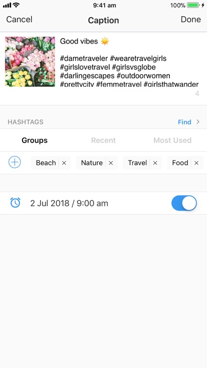 Preview: Planner for Instagram