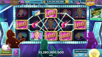 Ellen's Road to Riches Slots Screenshot on iOS