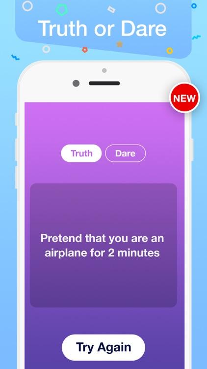 Tap Roulette + truth or dare