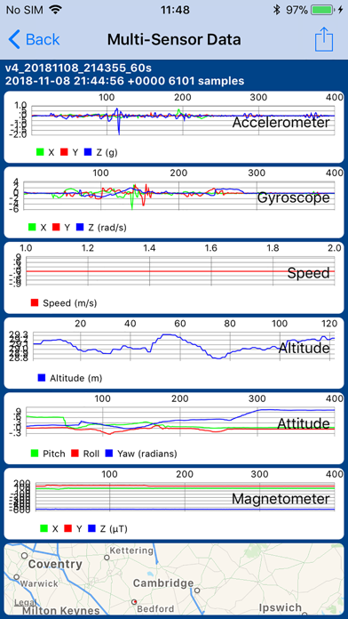 Sensor Play - Data Recorderのおすすめ画像4