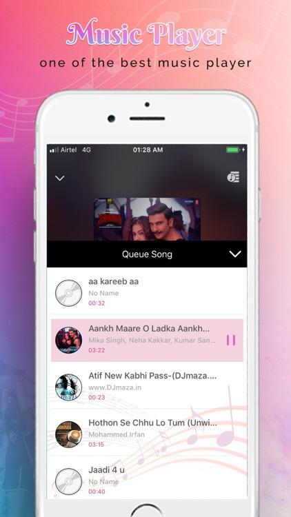 Music Player : Mp3 Player screenshot-4