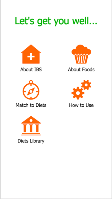 IBSDietMatch- IBS diet, FODMAP screenshot one